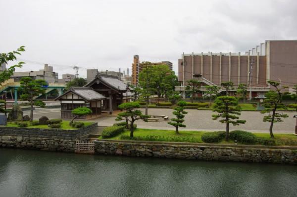今は徳島中央公園となっている徳島城跡