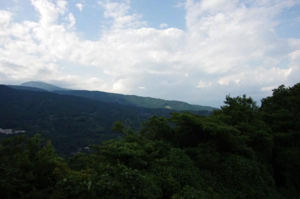 明神ヶ岳から丹沢山方面