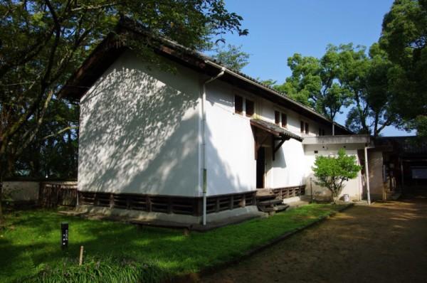 現在は山里倉庫が建ち、郷土資料館になっている