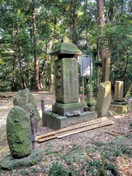 元禄二(1689)年と刻まれている