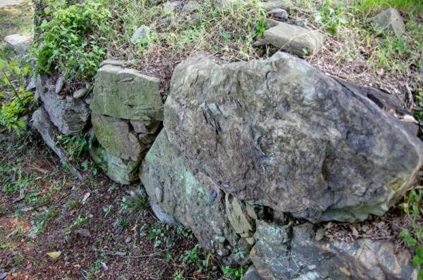 鉢形城で唯一の遺構