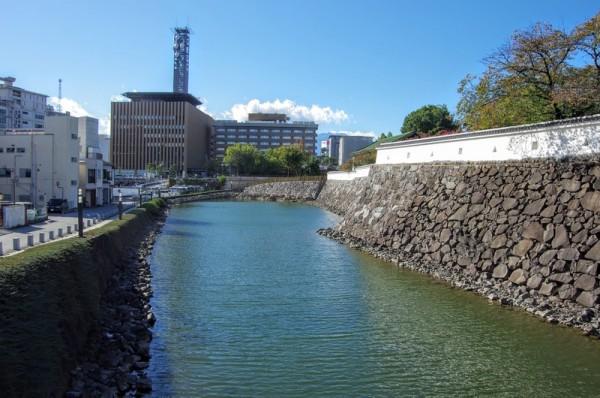 遊亀橋より西側の眺め