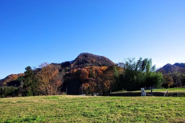 名胡桃城の南側にあり、往時は狼煙台があったとか