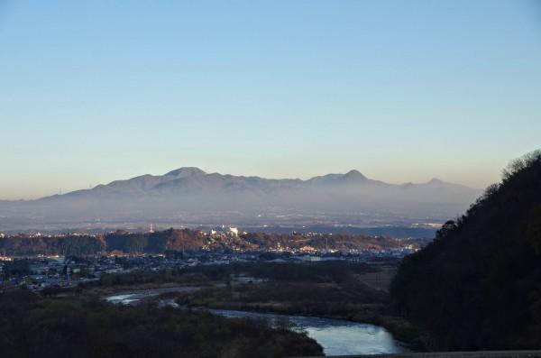 ここからだと沼田城がはっきりと見えた