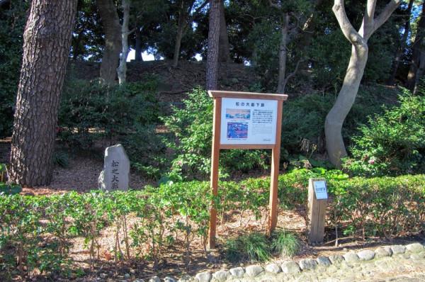 江戸城表にあった城内で二番目に長い松の廊下