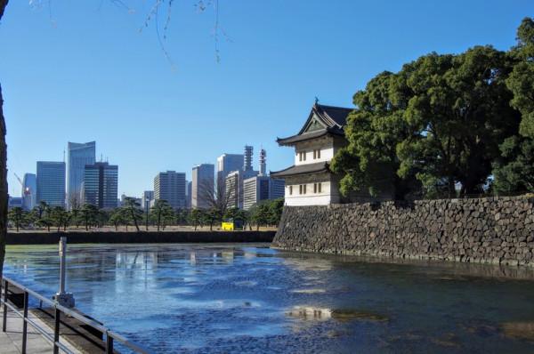 関東大震災で損壊したのちに解体復元された隅櫓