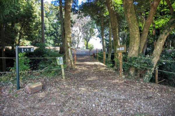 土橋の脇は内堀(5号堀と6号堀)が設けられていた