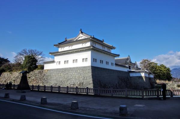 平成元(1989)年に伝統工法で復元され、現在は史料館になっている