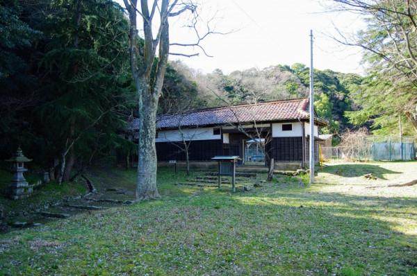 江戸時代中期の建築物で、市内に現存する唯一の武家建築である