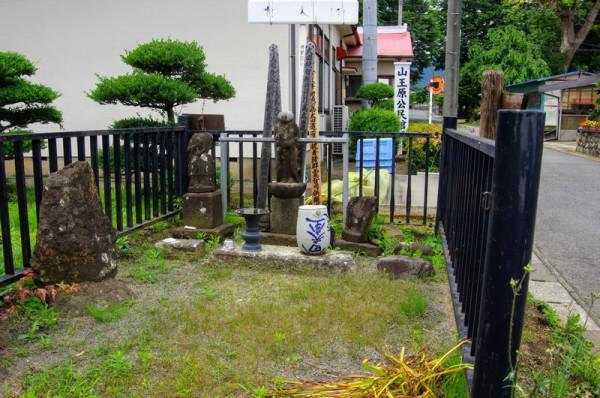 道灌を護衛した家臣七名の墓の一つで、残りは不明なのだとか