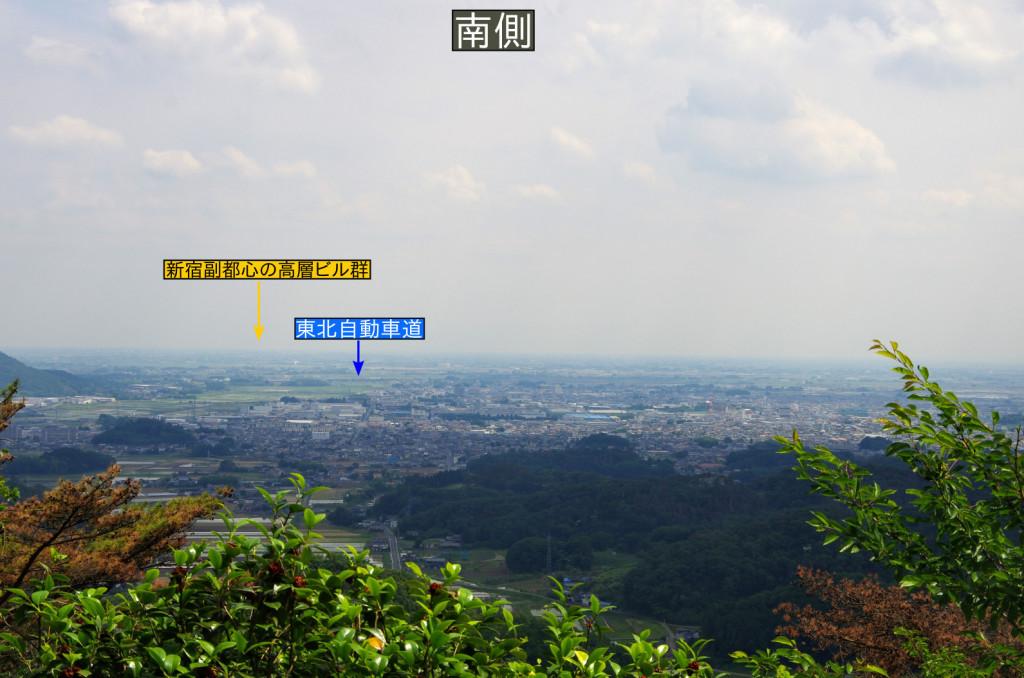 空気が澄んでいれば東京の高層ビルを眺めることができ、往時は江戸の大火なども見ることができたらしい