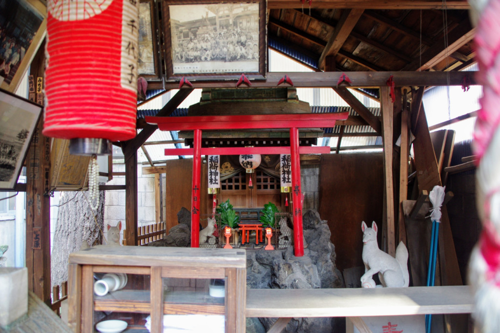 太郎稲荷への参詣は江戸時代に数度大流行したようで、立花家でも御賽銭で大繁盛したという