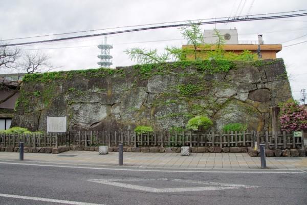 郭門は城内に16ヶ所あり、ここは特に追手門として厳重な構えを持っていた