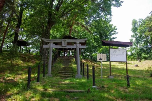松本城主・松平直政が尊崇したが松江へ移封した時に分祀したと云う