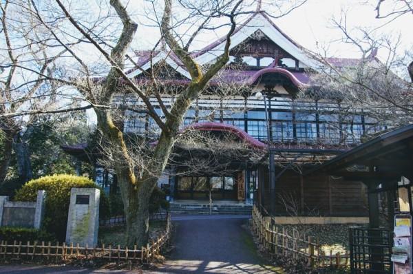 昭和11(1936)年に建造された大型の休憩所