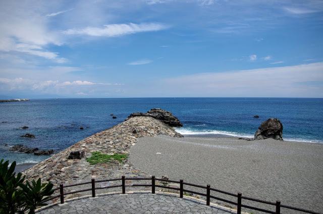 桂浜(龍頭岬)